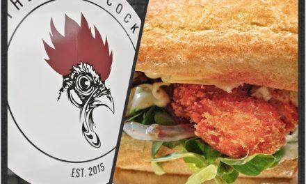 Kyllingeburger fra The Black Cock – Streetfood
