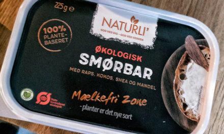 Smørbar fra Naturli' – 100% plantebaseret smøreprodukt til dit brød